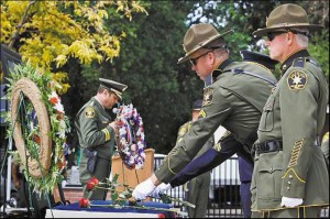 2015 Police Officers' Memorial Service